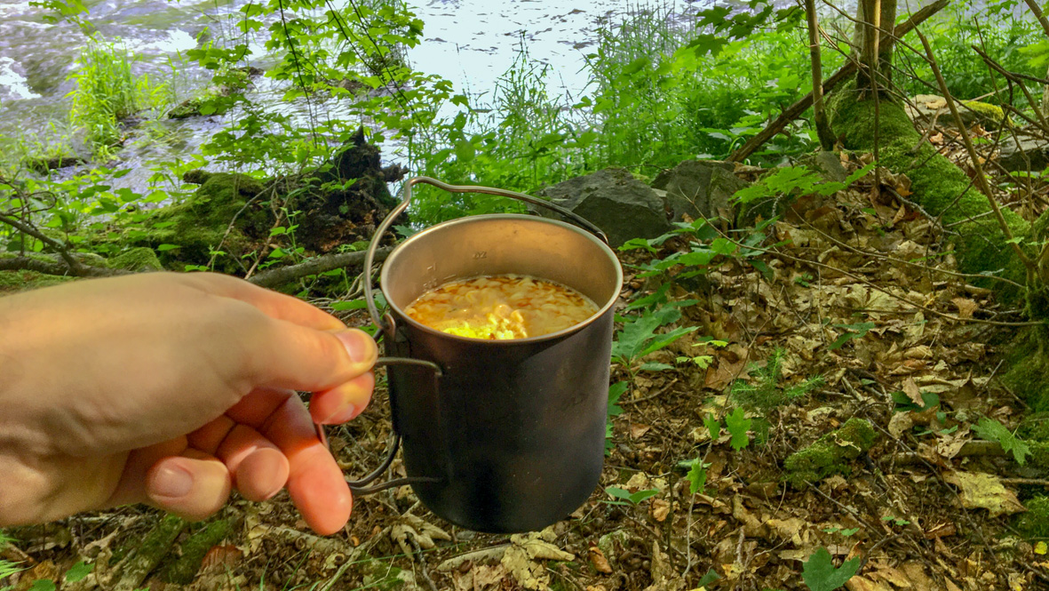 Eine stärkende Suppe zwischendurch. Foto: Chris Bergau/bergau-media.com